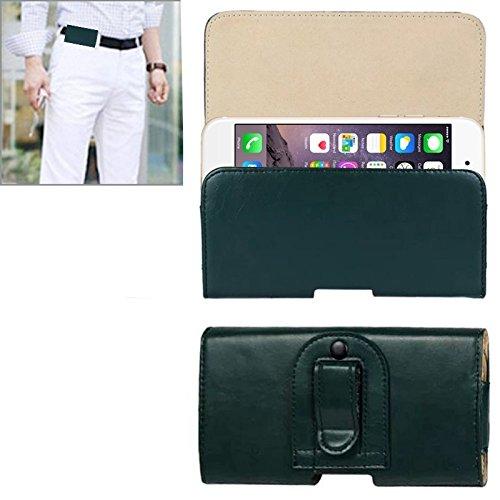 wkae Schutzhülle Fall & Crazy Horse Textur Horizontal Stil Leder Taille Tasche für iPhone 6Plus & 6splus/Galaxy Note 4/Note 3/Note 2/A5und A3 grün