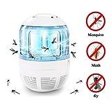 SMILEQ Lampe UV de lumière de tueur d'insecte de mouche de piège de moustique avec la maille 360 de preuve d'évasion de degré (A)