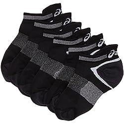Asics Lyte (3 UNIDADES) calcetines, unisex, color negro, talla 43/46 EU