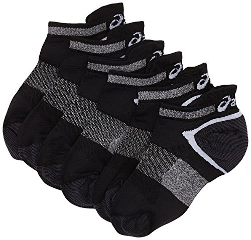 Asics Lyte Socks (Pack of 3) - Black, 6/8.5 UK (39/42 EU)