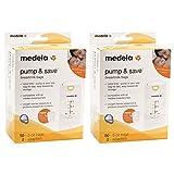 Medela Pump & Save Breastmilk Bags - 50 ...