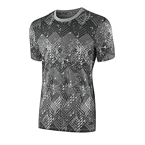 Zumba Men's Tri-Me Graphic T-Shirt Gris Taille XS