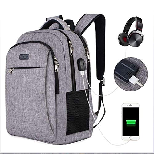8ea3cd094da3 LFF.FF Travel Computer Backpack External USB Backpack Student Bag Casual  Men Business