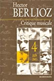 Critique musicale, volume 4 - 1839-1841
