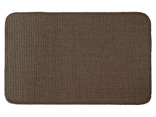 Primaflor - Ideen in Textil Katzen-Kratzmatte Katzenteppich - Braun 40 x 60 cm, Sisal, Langlebige Rutschhemmende Sisal-Matte, Geeignet für Fußbodenheizung, Krallenpflege Sisalteppich für Wand & Boden