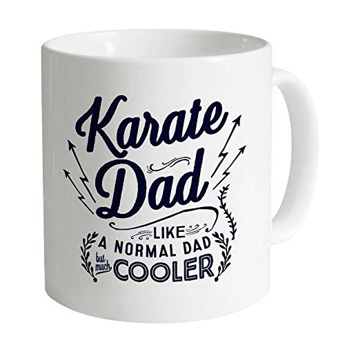 Karate Dad Taza Funny Novelty Gift