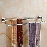Olici MDRW-Accessoires De Salle De Bain Support De Serviette Badezimmer Anhänger? Double Layer Handtuchhalter Mit Doppelter Verkupferung