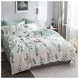 Draps Les Simples sont des oreillers en Coton à Double Face Disponibles à la Maison Textile Literie Four Seasons Universal Multicolor MUMUJIN (Couleur : Avene, Taille : 1.8m)