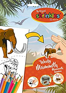 Shrinkles Shrinkles-WZ084 wz084 Original prehistórico Woolly Mammoth Slim Pack, Color Desconocido (Keycraft