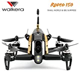 Ocamo Walkera Rodeo 150 Camera Drone 600TVL CAM 5.8G FPV 6 Axis Racing Drone RC Quadcopter Mini Drone with Camera (without Remote Control)