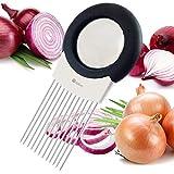 ORBLUE Soporte para cebolla, eliminador de olores y cortador todo en uno