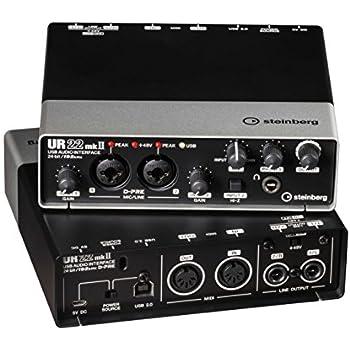 Steinberg UR22 MKII USB Audio Interface inkl. Apple iPad Support