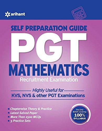 PGT Guide Mathematics Recruitment Examination