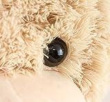 BRUBAKER XXL Teddybär 100 cm Beige mit einem Ich liebe Dich Herz - 6