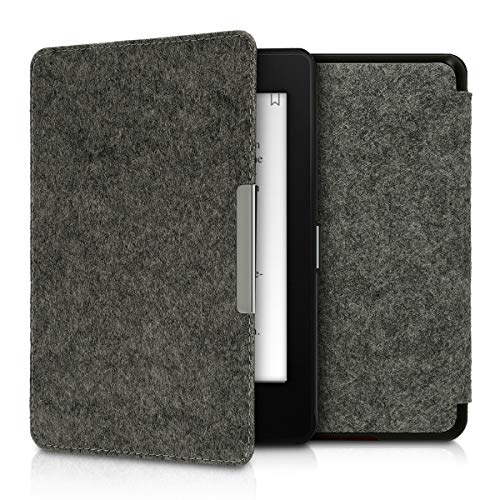 kwmobile Amazon Kindle Paperwhite (10. Gen - 2018) Hülle - Filz Stoff eReader Schutzhülle Cover Case für Amazon Kindle Paperwhite (10. Gen - 2018)