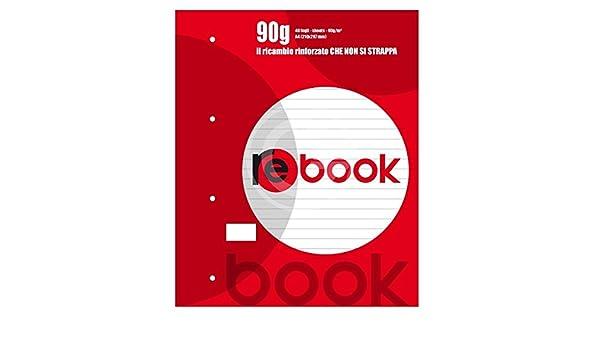 3924 QUABLOCK MAXI REBOOK 90GR 1RIGO 40fogli rinforzato cod