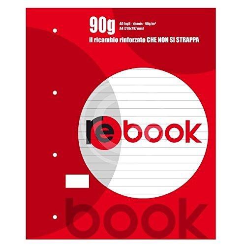 quablock Maxi Rebook 90gr 1rigo 40hojas reforzado Cod. 3924