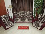 RSHP GREAT JUTE COTTON REVERSIBLE COFFEE SLIPCOVER FOR 5 SEATER