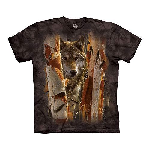 The Mountain Unisex-Erwachsene The Guardian T-Shirt, schwarz, 5X-Groß