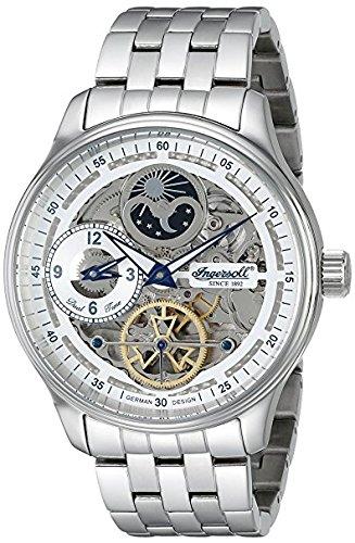 Ingersoll Men's IN2705WHMB Boonville Automatic Self Wind Silver Watch