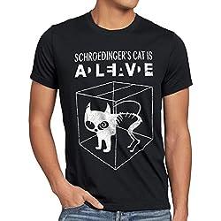 Gato de Schrödinger Camiseta para hombre