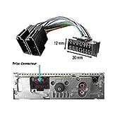 Kabel Adapter Stecker ISO für SONY Autoradio 16Pins