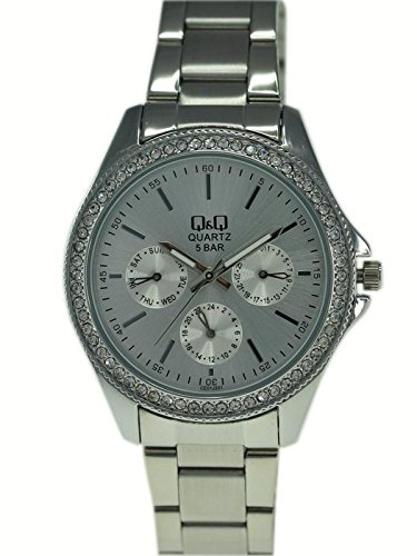 Q&Q Analog Silver Dial Women's Watch - CE01J201Y image