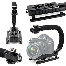 DURAGADGET Estabilizador de imagen de mano para cámara Canon EOS 1200D , 1300D / Rebel T6 , 350D , 5D Mark IV , 5DS R , 5DS , 750D , 760D , 77D , 7D Mark II