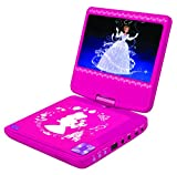 from LEXIBOOK LEXIBOOK DVDP6DP Disney Princess Portable Dvd Player with Car Adaptor and Remote Model DVDP6DP