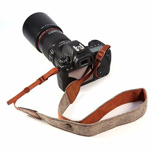 iHaospace - Tracolla per fotocamera, stile bohémienne, per Canon Nikon Pentax Sony ecc.
