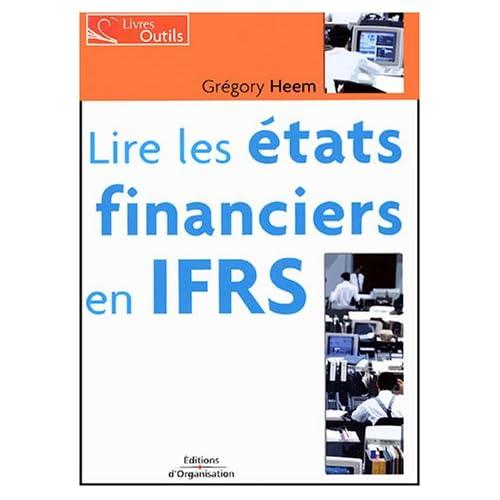 Lire les états financiers en IFRS