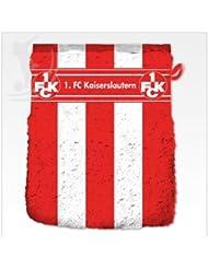 1.FC Kaiserslautern Waschhandschuh 16x21cm Waschlappen Fanartikel
