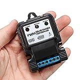 Ils - 6V/12V 5A/10A-Controller PWM-Laderegler mit Intelligenter LED-Anzeige