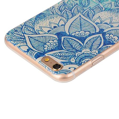 TPU Coque Apple iPhone 6 Plus (5.5 pouces),Housse Slim Coque Transparent Etui, Apple iPhone 6 Plus (5.5 pouces) Case Souple TPU Bumper Protective Cover Skin, Crystal Clear Couverture Arrière Etui de P 10