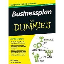 Businessplan für Dummies