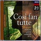 Mozart: Così fan tutte (Gesamtaufnahme) (ital.)