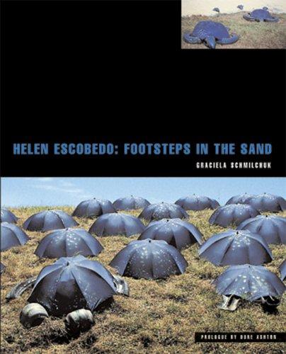 Helen Escobedo: Footsteps in the Sand