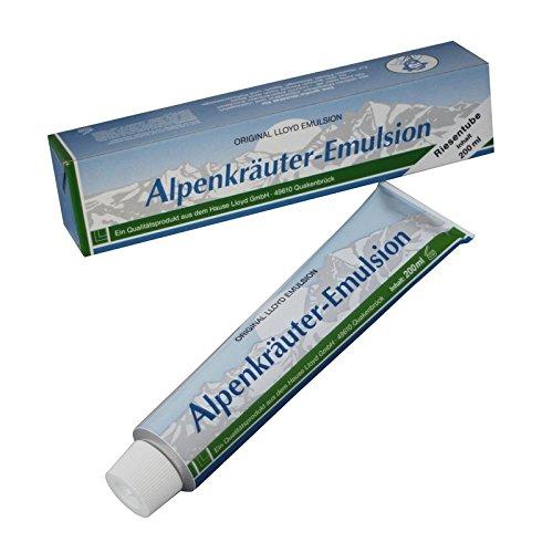 200 ml ORIGINAL LLOYD Riesentube Alpenkräuter Emulsion Creme Tube Salbe Massage - Original Salbe Tube