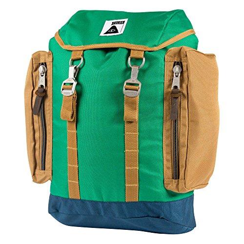 Poler Unisex Rucksack, bright green, 50 x 40 x 6 cm, 25 liters, 512015