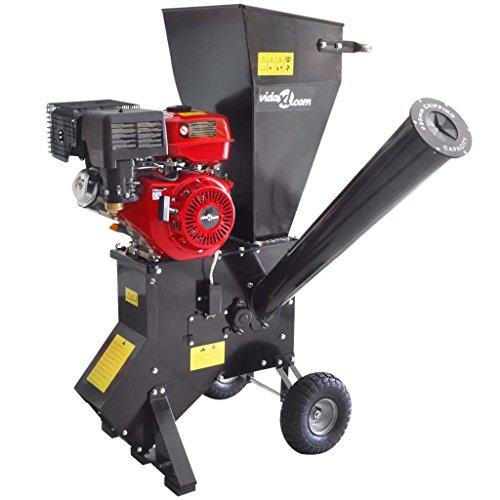 vidaXL Cippatrice Trinciatrice Composter Elettrica da giardino con motore 13 CV
