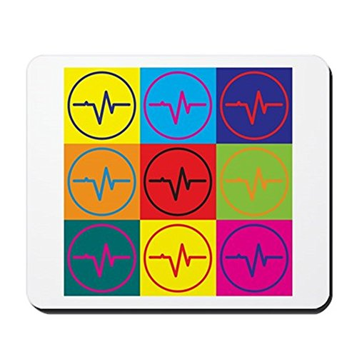 Engineering Geschenke Lustig (CafePress–biomedizinischen Engineering Pop Art–Rutschfester Gummi-Mauspad, Gaming Maus Pad)