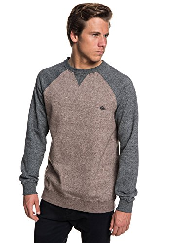 Quiksilver Everyday - Sweatshirt for Men - Sweatshirt - Männer - S - Braun