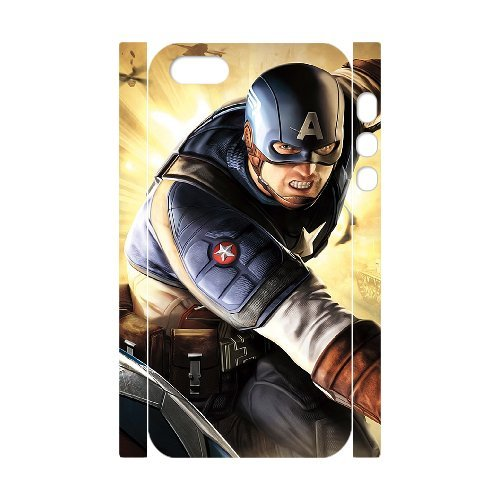 LP-LG Phone Case Of Captain America For iPhone 5,5S [Pattern-6] Pattern-4