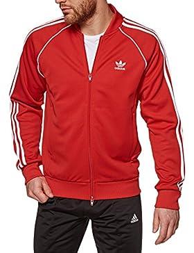 adidas SST TT Sudadera, Hombre, Rojo (Escarl), XS