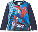 Spiderman NYC Super Hero, Camiseta para Niños, Azul (Blue), 2-3 Años