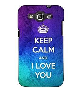 Fuson Designer Back Case Cover for Samsung Galaxy Win I8550 :: Samsung Galaxy Grand Quattro :: Samsung Galaxy Win Duos I8552 (Keep Calm theme)