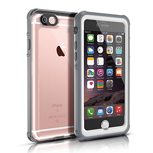 37d50850784 Funda Impermeable para iphone 6/6s(4.7 inch),Easylife IP68 Transparente  Carcasa