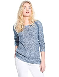 Balsamik - Pull bicolore, manches longues - femme