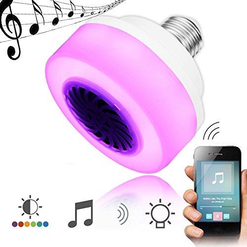 QIZIANG E27 5W LED drahtloser Bluetooth RGB-Musikspiel-Sprecher-Stadiums-Glühlampe AC100-240V Hot