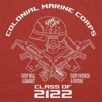 TEXLAB - Colonial Marine Corp Class of 2122 - Herren T-Shirt Rot